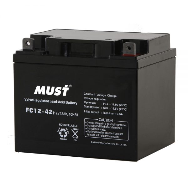 Sealed Lead Acid AGM Battery FC Series 12V