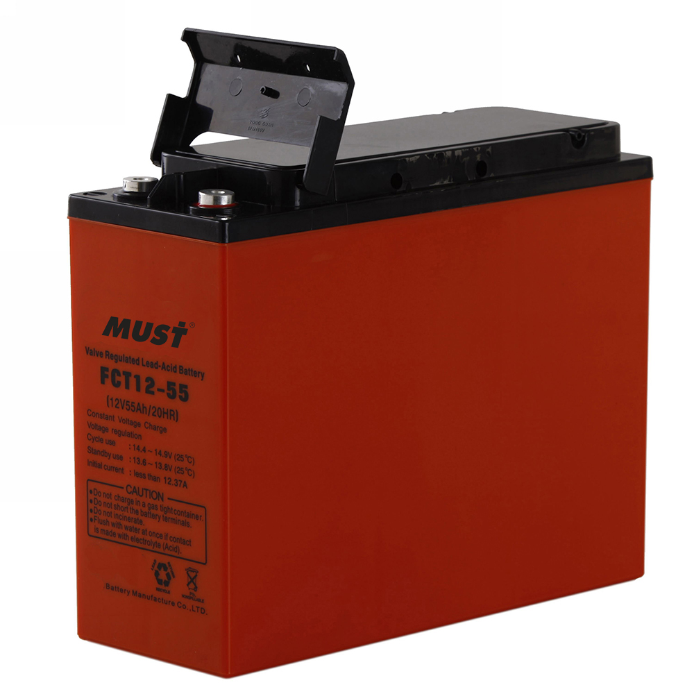 batteries front access agm battery fct series 12v must energy. Black Bedroom Furniture Sets. Home Design Ideas