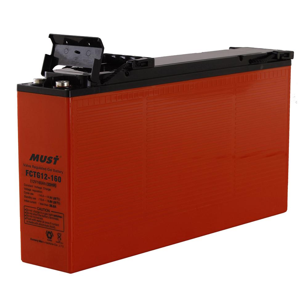 Front Access Lead Acid Gel VRLA Battery FCTG Series 12V