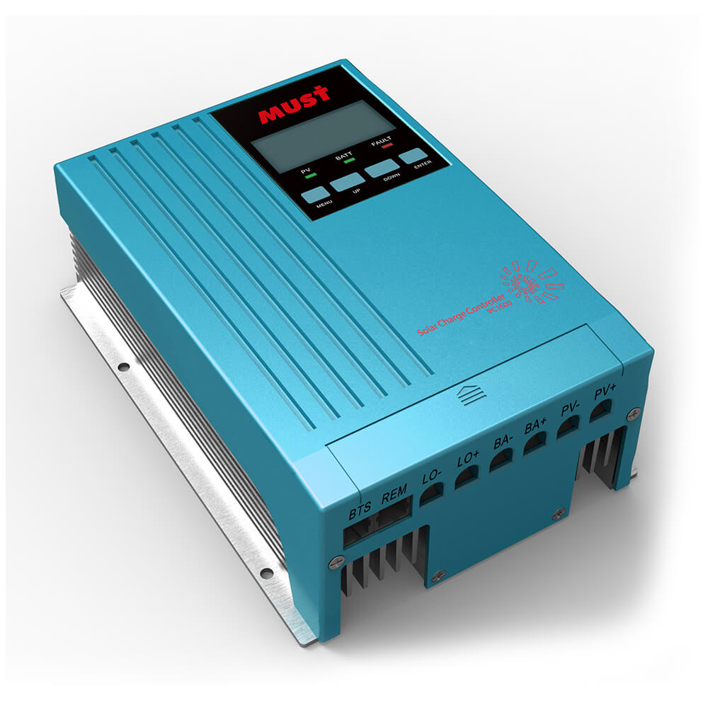 PC1600A Series MPPT Solar Charge Controller (20/30/40A)