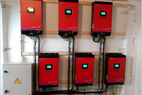 6pcs inverter in parallel