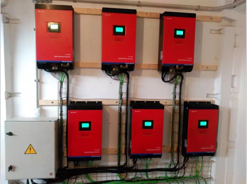 6pcs inverter in parallel