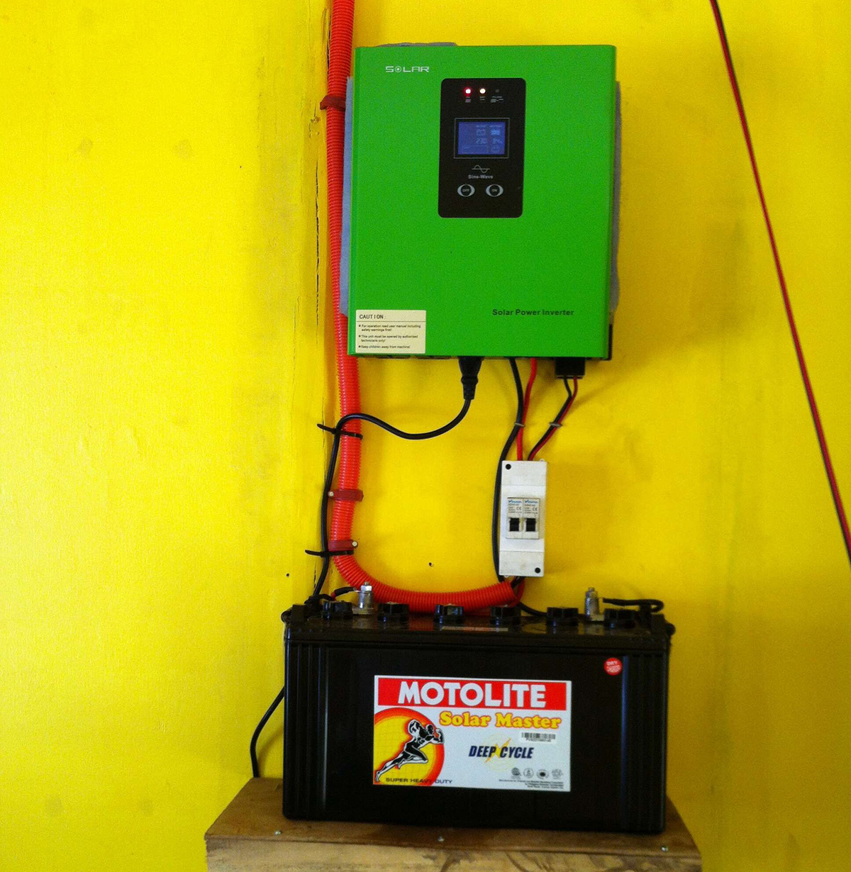 how to read solar inverter
