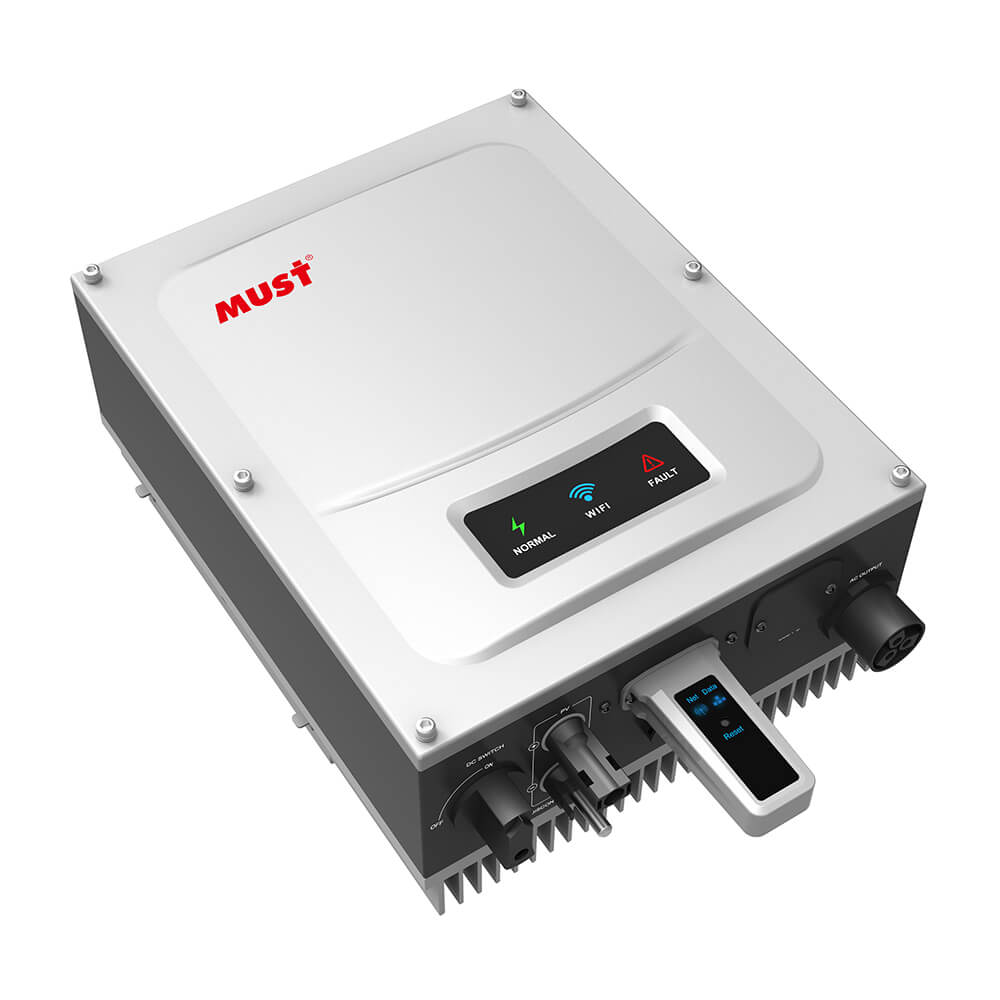 PH5000 Series High Frequency On Grid Solar Inverter (2.5-6KW)