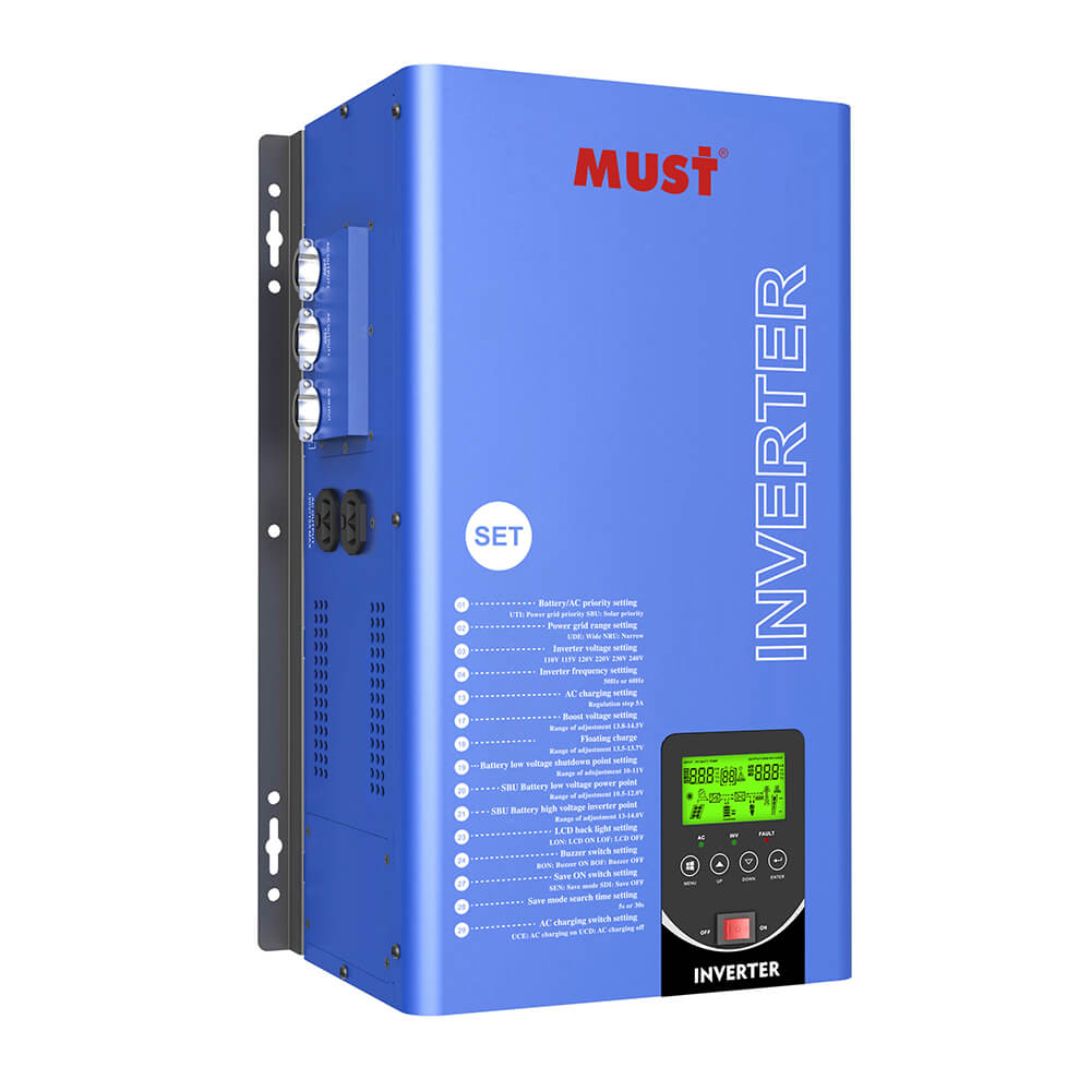 EP3300 TLV Series Low Frequency Pure Sine Wave Split Phase Inverter Charger (1-6KW)