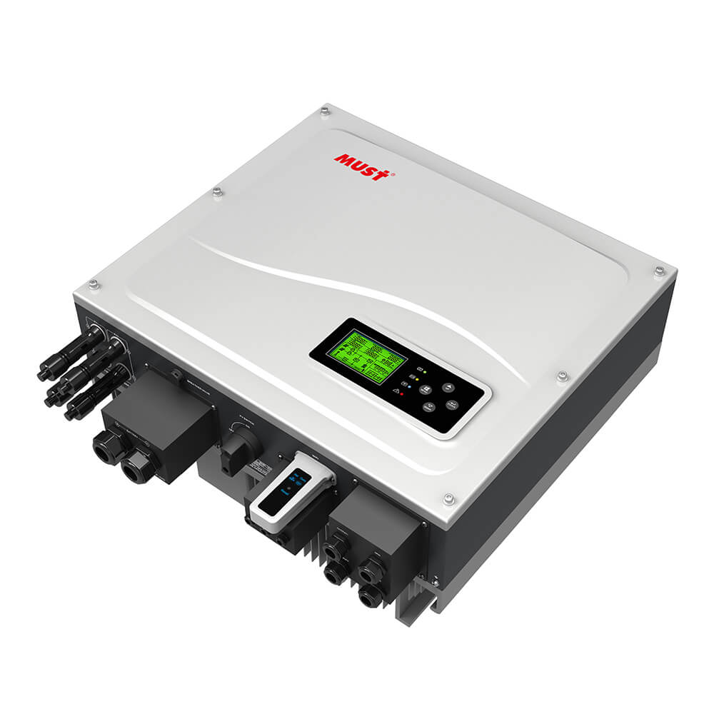 PH1000 PRO Series On/Off Grid High frequency Hybrid Solar Inverter (5KW)